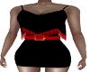 Bralinda Black/Red Dress