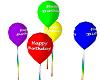 NL2-Happy B-Day Ballons