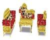 egyptian couch set