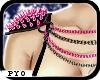 PYO|Shoulder spikes pink