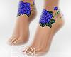 Blue Roses Feet