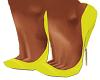 Yellow Samira Pumps