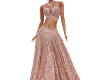 AISHA LACE PINK GOWN
