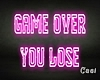 Game Over.. | Neon Sign