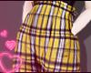 e tartan - yellow