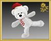 Christmas Skate Teddy