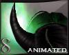 -S- Wicked Demon Horns