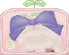 🌱Purple Head Bow