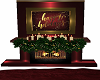 Christmas Fireplace DERV