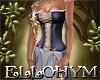 ~E- Zella Gown Indigo