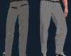 Grey Pattern Dress Pants