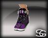 G1~purple & blk jordans