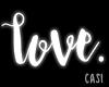 love | Neon Sign