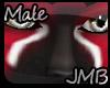 [JMB] Tiox Red/Blk Fur M