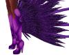 Purple Samba Boots