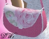 Pink Floral Purse