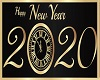 2020 New Years sign