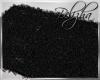 [B] BLACK  RUG