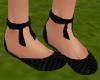 TF* Flat Black Shoes