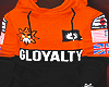GLOYALTY JACKET (ORANGE)