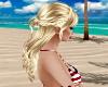 Blonde-Braid Sunset Hair
