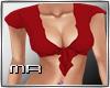 MR:Knotting Shirt Red