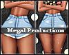M! Sexi Denim Shorts XXL