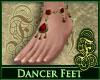 Dancer Feet Ruby