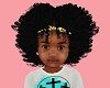 Kids Fro + Bow Yellow