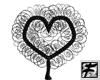 ~F~ Curly Heart Tree