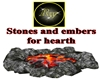 Stones and embers