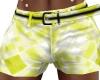 Yellow Men's Shorts