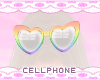 rainbow glasses ❤