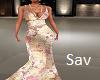 Boho Silk Gown