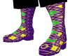 Mardi Gras Boots