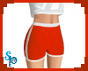 [S] Sport Shorts Red