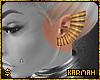 ☯ Gold Ear Cuff (L)