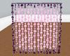 PinkPlush Beaded Curtain