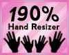 Hand Scaler 190%