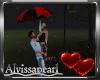 Valentine Rain Umbrella