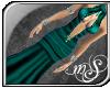 [mS]Teal Prom Dress