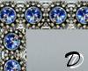Silver n Sapphire frame