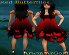red butterfly dress