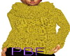 PBF*Gold Knit Sweater