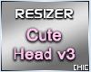 Cute Head 3 Resizer
