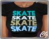 Skate Aqua