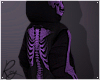 Purple Skelly Hoodie