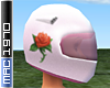 Rose Race Helmet