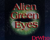 Alien Female Green Eyes