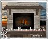 K! Beachhouse Fireplace